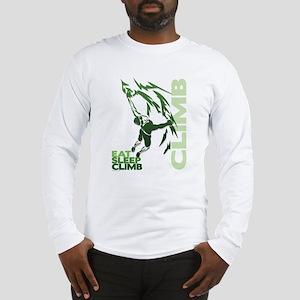 Eat Sleep Climb Long Sleeve T-Shirt