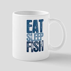 EAT SLEEP FISH Mug