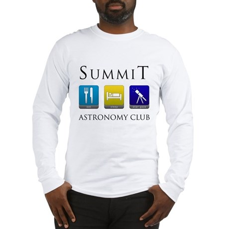 Summit Astronomy Club - Stargaze Long Sleeve T-Shi