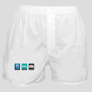 Eat, Sleep, Photography Boxer Shorts