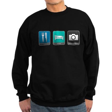 Eat, Sleep, Photography Dark Sweatshirt