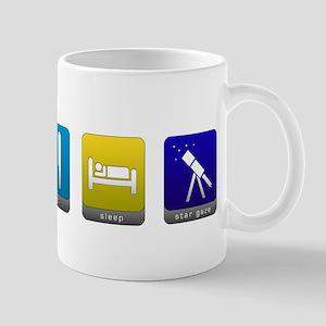 Eat, Sleep, Stargaze Mug