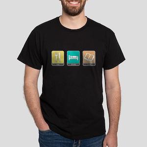 Eat, Sleep, Read Dark T-Shirt