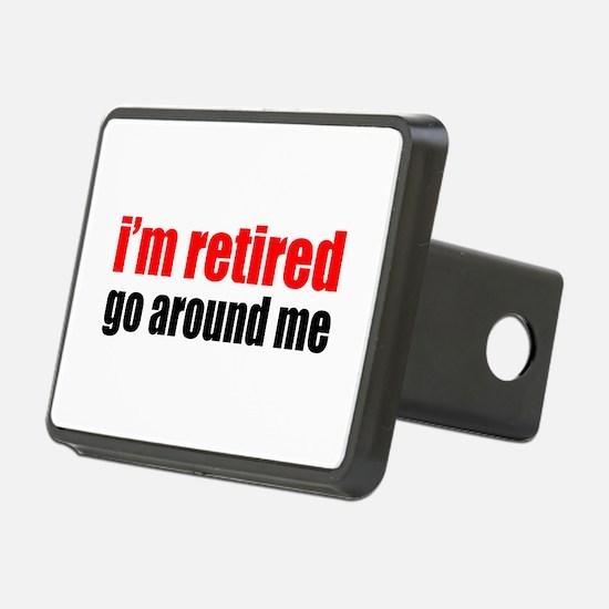 I'm Retired Go Around Hitch Cover