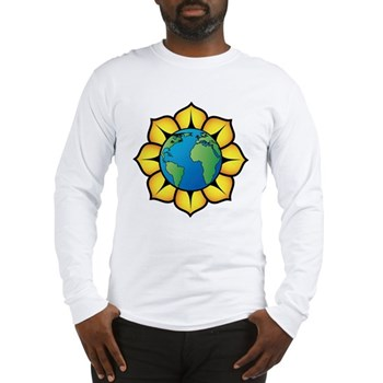Blooming Earth Long Sleeve T-Shirt