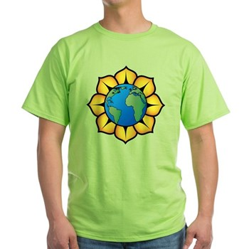 Blooming Earth Light T-Shirt