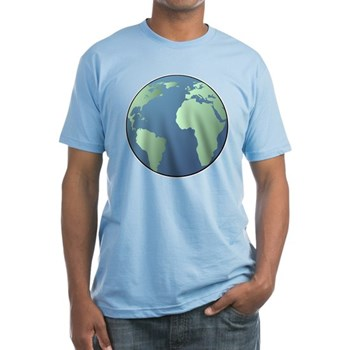 Planet Earth Fitted T-Shirt