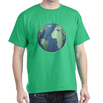 Planet Earth Dark T-Shirt