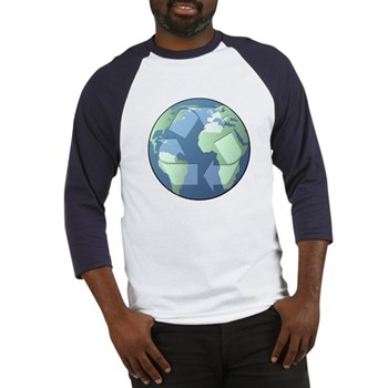 Planet Earth - Recycle Baseball Jersey