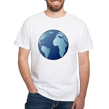 Blue Planet White T-Shirt