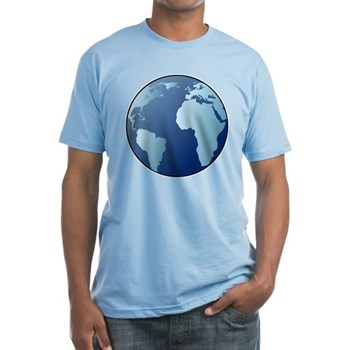 Blue Planet Fitted T-Shirt