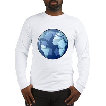 Blue Planet - Recycle Long Sleeve T-Shirt