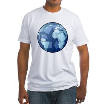 Blue Planet - Recycle Fitted T-Shirt