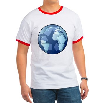 Blue Planet - Recycle Ringer T