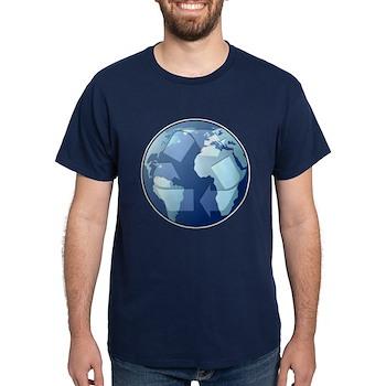 Blue Planet - Recycle Dark T-Shirt