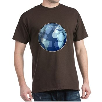 Blue Planet - Recycle Dark T-Shirt