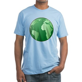 Green Earth Fitted T-Shirt