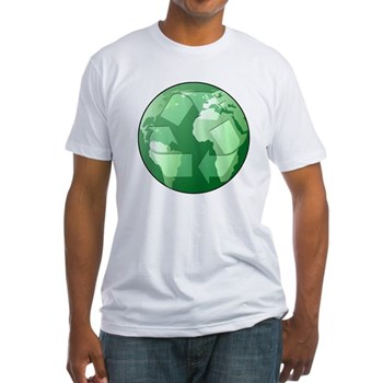 Green Earth - Recycle Fitted T-Shirt