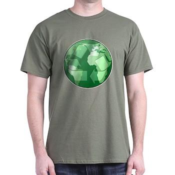 Green Earth - Recycle Dark T-Shirt