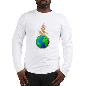 Blooming Earth Long Sleeve T-Shirt