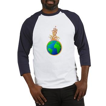 Blooming Earth Baseball Jersey