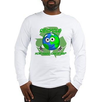 Earth Guy - Recycle Long Sleeve T-Shirt