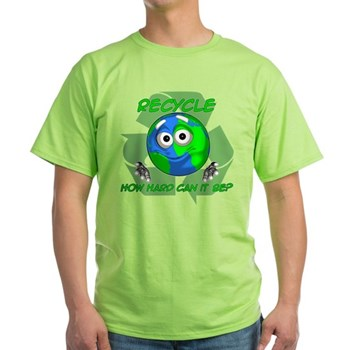 Earth Guy - Recycle Light T-Shirt