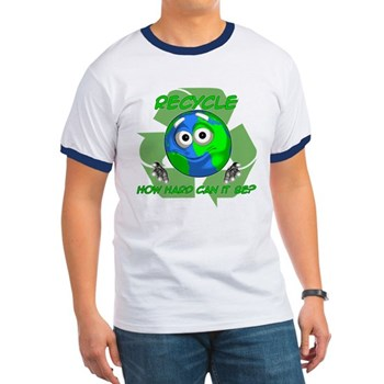 Earth Guy - Recycle Ringer T