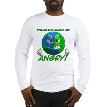 Angry Earth Long Sleeve T-Shirt