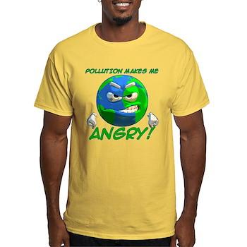 Angry Earth Light T-Shirt