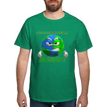 Angry Earth Dark T-Shirt
