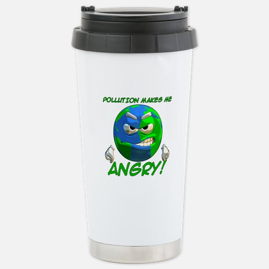 Angry Earth Stainless Steel Travel Mug