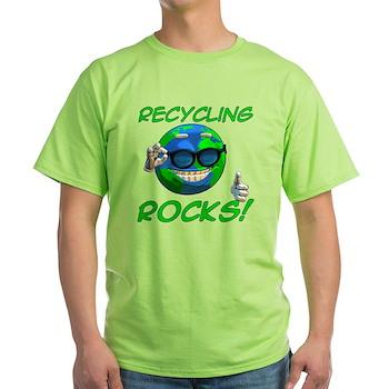 Recycling Rocks! Light T-Shirt