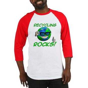 Recycling Rocks! Baseball Jersey