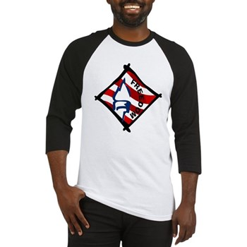 Red, White and Blue Freedom Baseball Jersey
