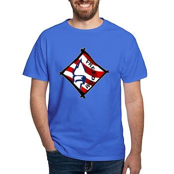 Red, White and Blue Freedom Dark T-Shirt