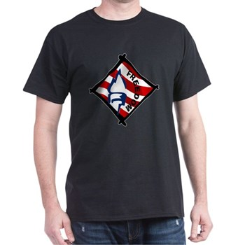 Red, White and Blue Freedom Dark T-Shirt