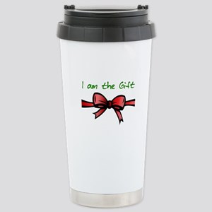 I Am the Gift Stainless Steel Travel Mug