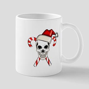 Christmas Skull Mug