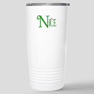 Nice for Christmas Stainless Steel Travel Mug