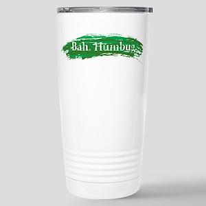 Bah. Humbug. Stainless Steel Travel Mug