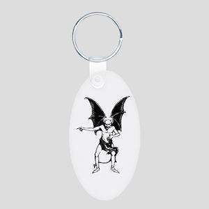 Vintage Pointing Devil Keychains