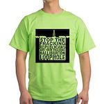 Gas Fracking Green T-Shirt