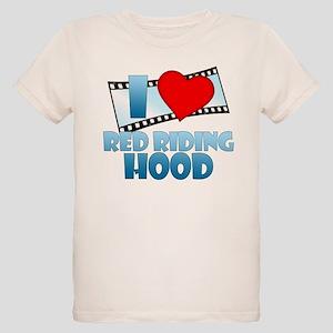 I Heart Red Riding Hood Organic Kids T-Shirt