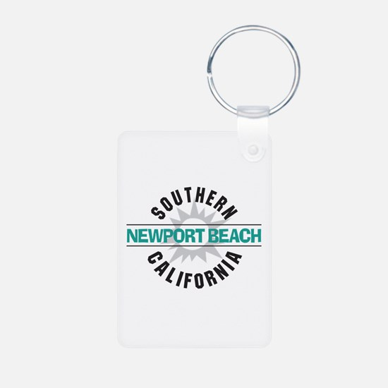 Newport Beach California Keychains
