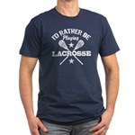 I'd Rather Be Playing Lacrosse Men's Fitted T-Shir