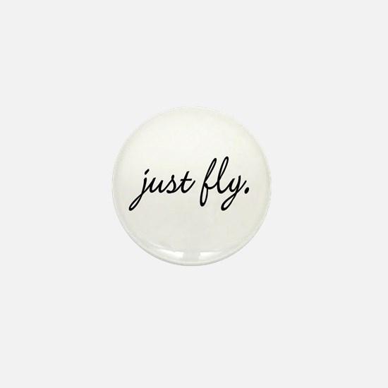 Just Fly Mini Button