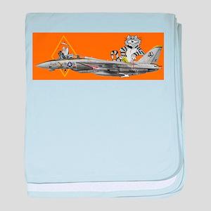 VF-142 Ghostriders baby blanket