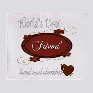 Cherished Friend Throw Blanket
