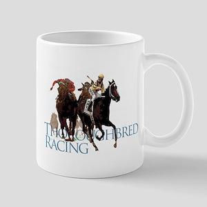 Thoroughbred Racing Mug